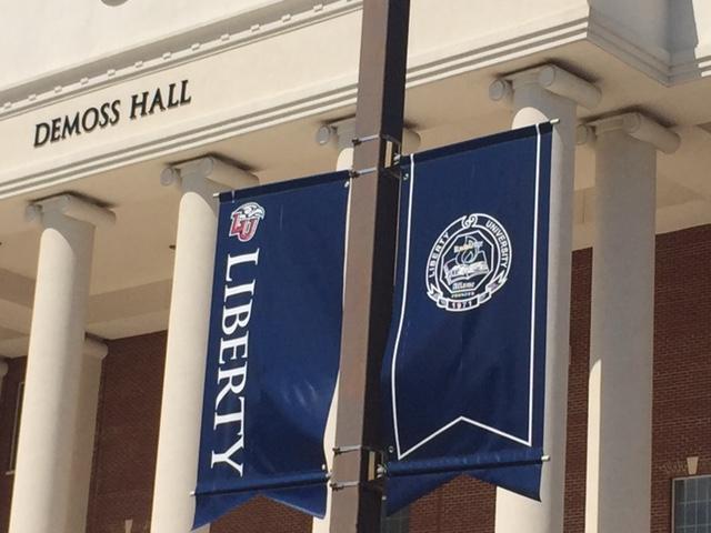 flag liberty university